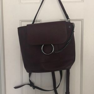 New Justfab Backpack type purse